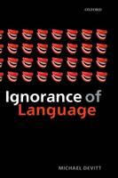 Ignorance of Language (Hardback)