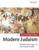 Modern Judaism: An Oxford Guide (Paperback)