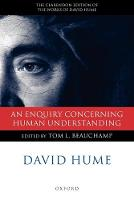 David Hume: An Enquiry concerning Human Understanding: A Critical Edition - Clarendon Hume Edition Series (Paperback)