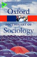 A Dictionary of Sociology - Oxford Paperback Reference (Paperback)