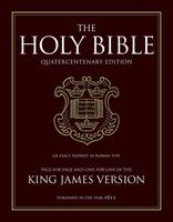 King James Bible: 400th Anniversary Edition (Leather / fine binding)