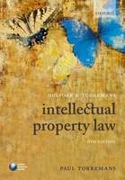 Holyoak and Torremans Intellectual Property Law (Paperback)