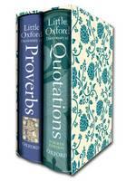 "Little Oxford Gift Box: ""Little Oxford Dictionary of Quotations"", ""Little Oxford Dictionary of Proverbs"""