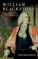 William Blackstone: Law and Letters in the Eighteenth Century (Paperback)