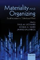 Materiality and Organizing: Social Interaction in a Technological World (Paperback)