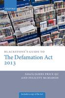 Blackstone's Guide to the Defamation Act