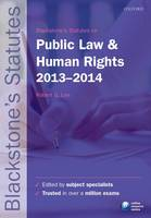 Blackstone's Statutes on Public Law and Human Rights 2013-2014 - Blackstone's Statute Series (Paperback)
