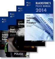 Blackstone's Police Manuals 2014 - Blackstone's Police Manuals