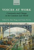 Voices at Work: Continuity and Change in the Common Law World (Hardback)
