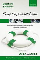 Q & A Revision Guide: Employment Law 2012/2013 - Law Questions & Answers (Paperback)