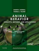 Animal Behavior: Concepts, Methods, and Applications (Paperback)