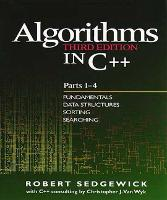 Algorithms in C++, Parts 1-4: Fundamentals, Data Structure, Sorting, Searching (Paperback)