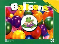Balloons: Kindergarten, Level 3 Workbook (Paperback)
