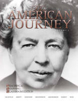 The American Journey: A History of the United States (Paperback)
