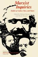 Marxist Inquiries: Studies of Labor, Class, and States (Paperback)