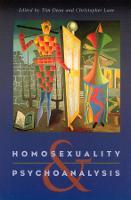 Homosexuality and Psychoanalysis (Hardback)