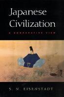 Japanese Civilization: A Comparative View (Paperback)
