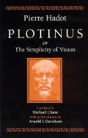 Plotinus or the Simplicity of Vision (Paperback)
