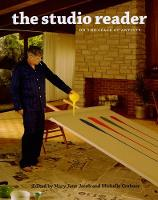 The Studio Reader - On the Space of Artists