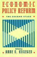 Economic Policy Reform: The Second Stage (Hardback)