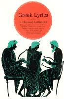 Greek Lyrics (Paperback)