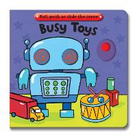 Busy Books: Busy Toys (Board book)