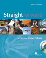 Straightforward Elementary Student's Book & CD-ROM Pack