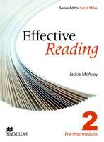 Effective Reading Pre Intermediate Student's Book