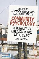 Community Psychology: In Pursuit of Liberation and Well-being (Paperback)