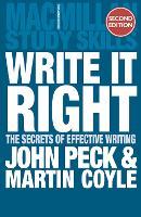 Write it Right: The Secrets of Effective Writing - Macmillan Study Skills (Paperback)