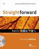 Straightforward 2nd Edition Beginner Workbook with key & CD