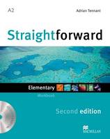 Straightforward 2nd Edition Elementary Level Workbook without key & CD