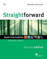 Straightforward 2nd Edition Upper Intermediate Level Student's Book (Paperback)