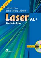 Laser A1+ Student's Book and CD-ROM Pack (Board book)