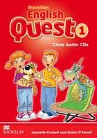 Macmillan English Quest Level 1: Class Audio CD (Board book)