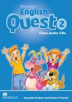 Macmillan English Quest Level 2: Class Audio CDs (Board book)