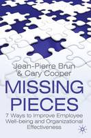 Missing Pieces: 7 Ways to Improve Employee Well-Being and Organizational Effectiveness (Hardback)