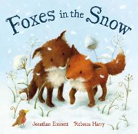 Foxes in the Snow (Paperback)
