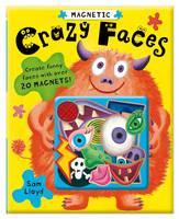 Magnetic Crazy Faces (Hardback)