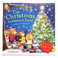 The Christmas Treasure Hunt: A pop-up book (Hardback)