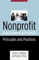 Nonprofit Organizations: Principles and Practices - Foundations of Social Work Knowledge Series (Hardback)