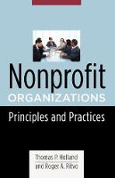 Nonprofit Organizations: Principles and Practices - Foundations of Social Work Knowledge Series (Paperback)