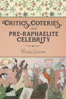 Critics, Coteries, and Pre-Raphaelite Celebrity - Gender and Culture Series (Hardback)