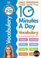 10 Minutes a Day Vocabulary Ages 7-11 Key Stage 2 - Made Easy Workbooks (Paperback)