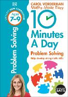 10 Minutes a Day Problem Solving Ages 7-9 Key Stage 2 - Made Easy Workbooks (Paperback)