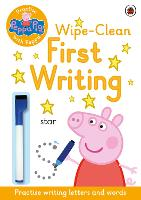 Peppa Pig: Practise with Peppa: Wipe-Clean First Writing - Peppa Pig (Paperback)