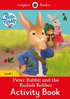 Peter Rabbit and the Radish Robber Activity Book - Ladybird Readers Level 1