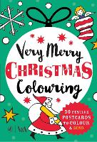 Very Merry Christmas Colouring