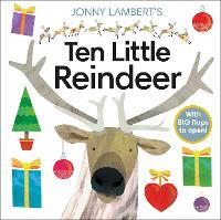 Jonny Lambert's Ten Little Reindeer (Board book)