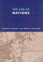 The Size of Nations - The MIT Press (Hardback)